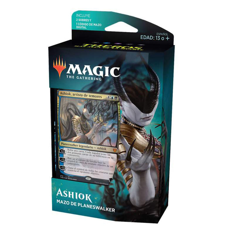"Magic The Gathering: Theros Beyond Death Planeswalker Deck ""Ashiok"" (Spanish Edition)"