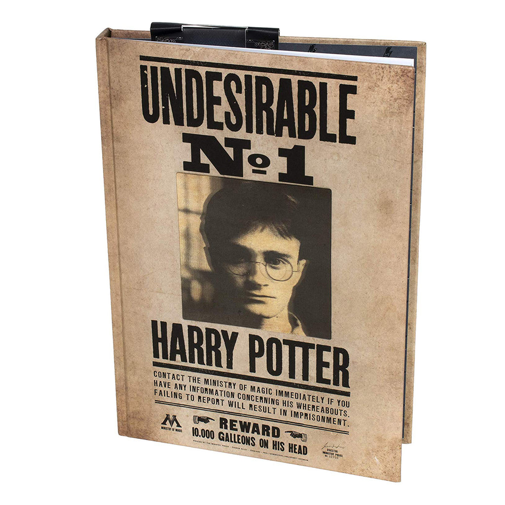 Harry Potter Undesirable No 1 3D Lenticular Notebook - 200 Lined Pages