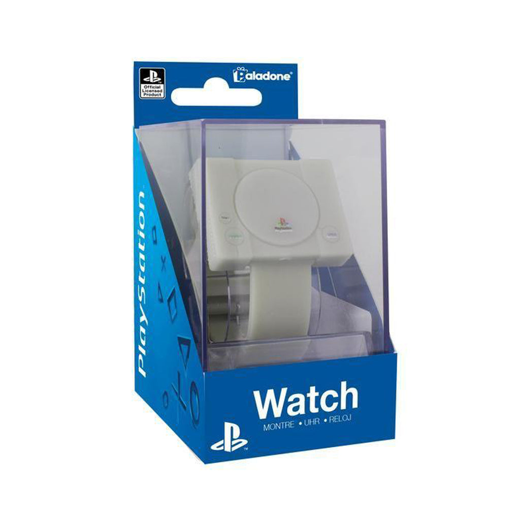 Playstation Officially Licensed Merchandise - Digital Playstation Console Watch