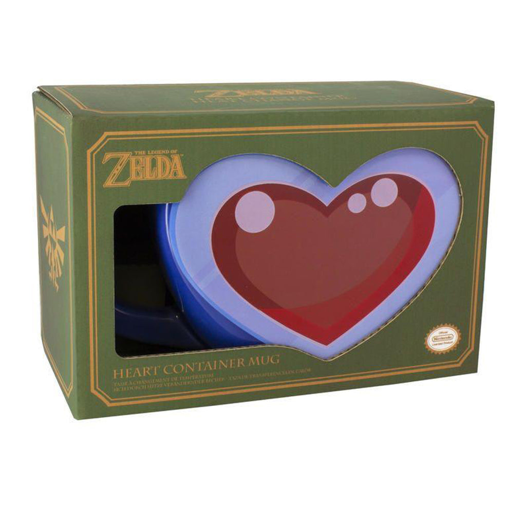 Paladone Heart Container Mug - Legend of Zelda Collectible