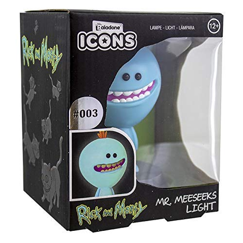 Paladone Rick and Morty Mr Meeseeks Collectible Icon Light