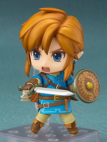 Nendoroid Good Smile -The Legend of Zelda: Breath of the Wild: Link (Deluxe Version)