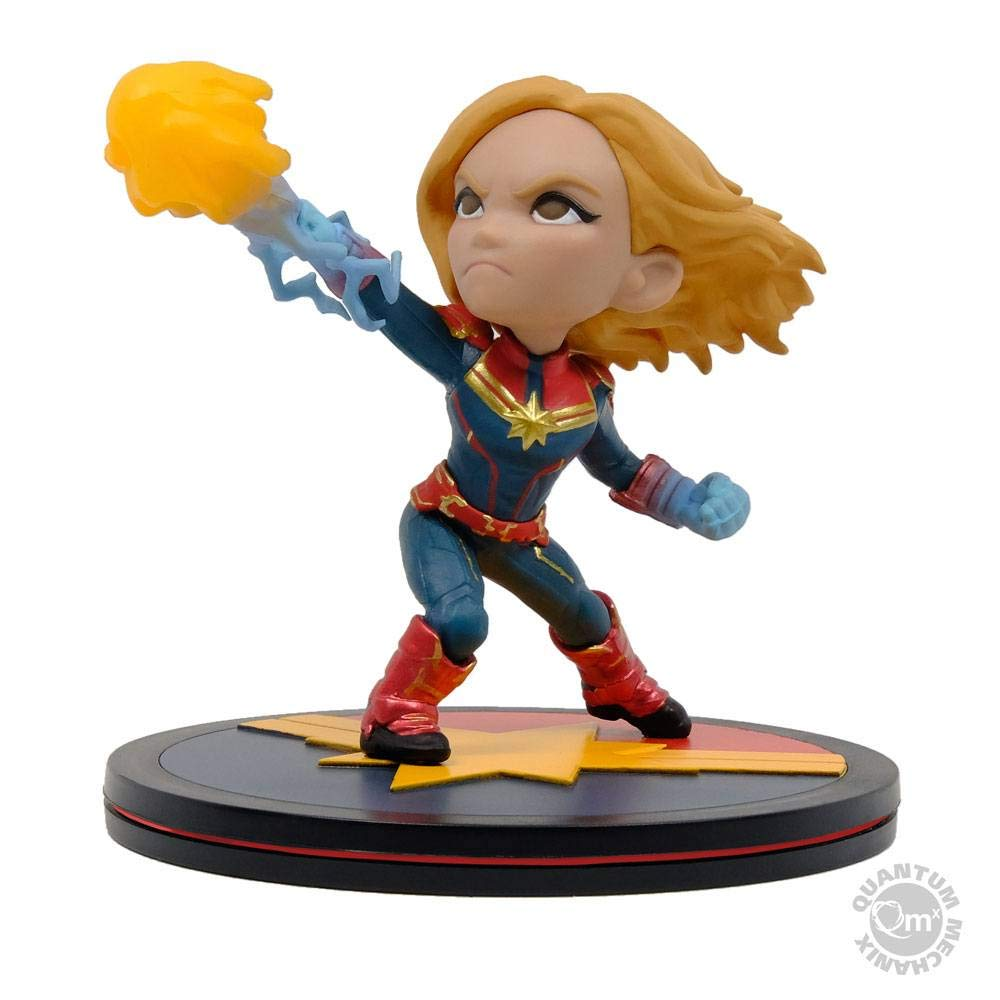 Quantum Mechanix Captain Marvel Q-Fig Diorama Standard