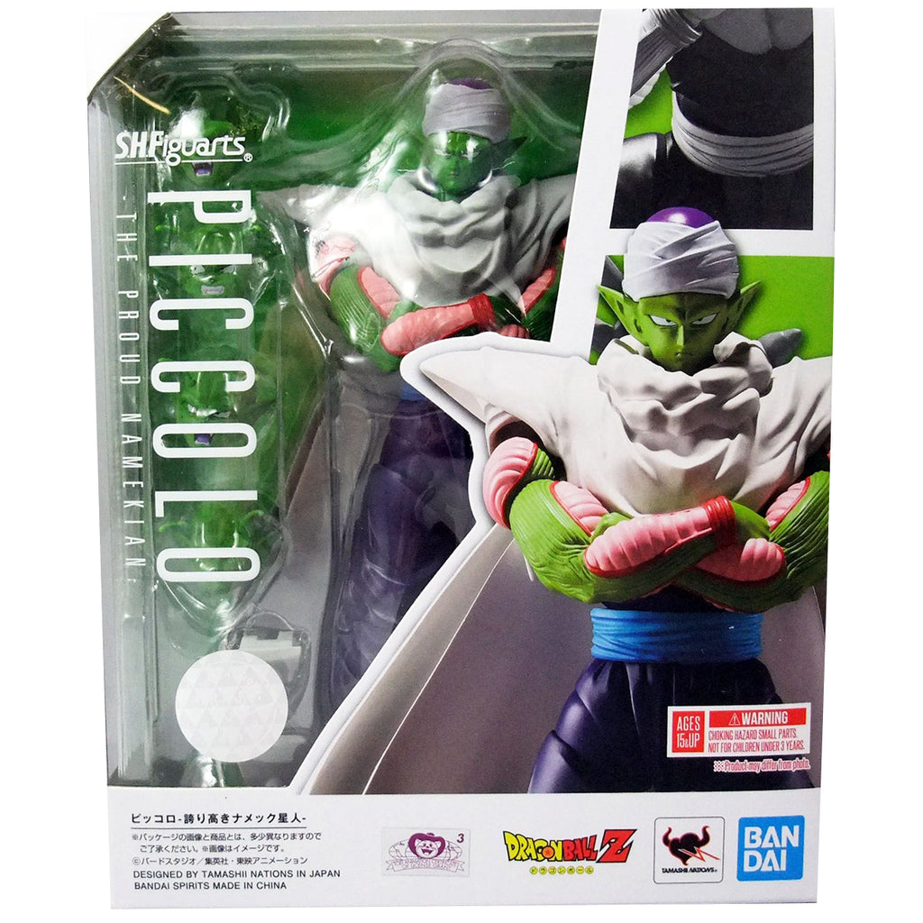 Bandai Tamashii NationsS.H. Figuart - Dragon Ball Z: Piccolo The Proud Namekian