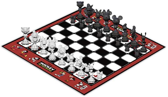USAOPOLY Mickey The True Original Chess Set 90th Anniversary