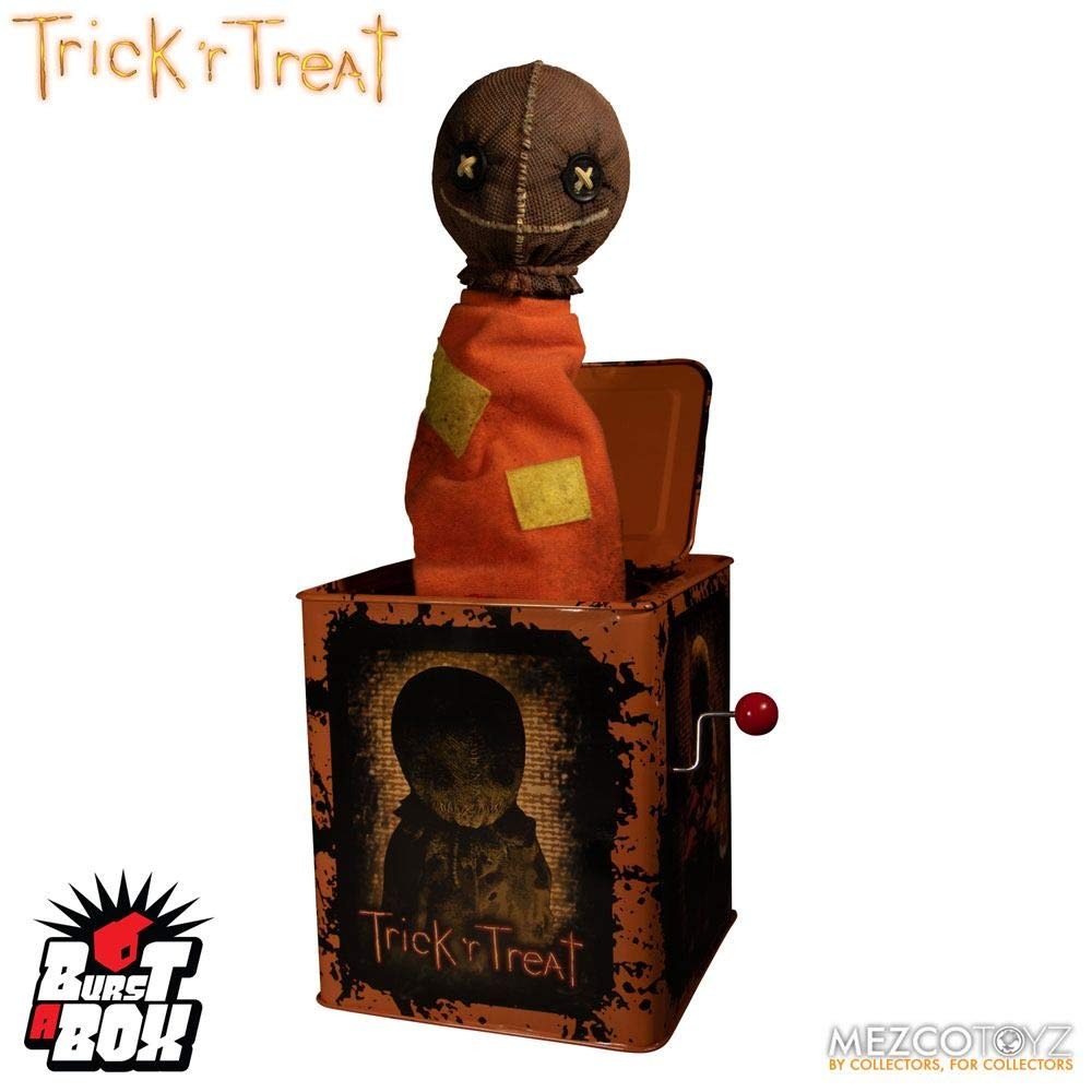 Trick 'r Treat Sam Burst A Box Jack en la caja