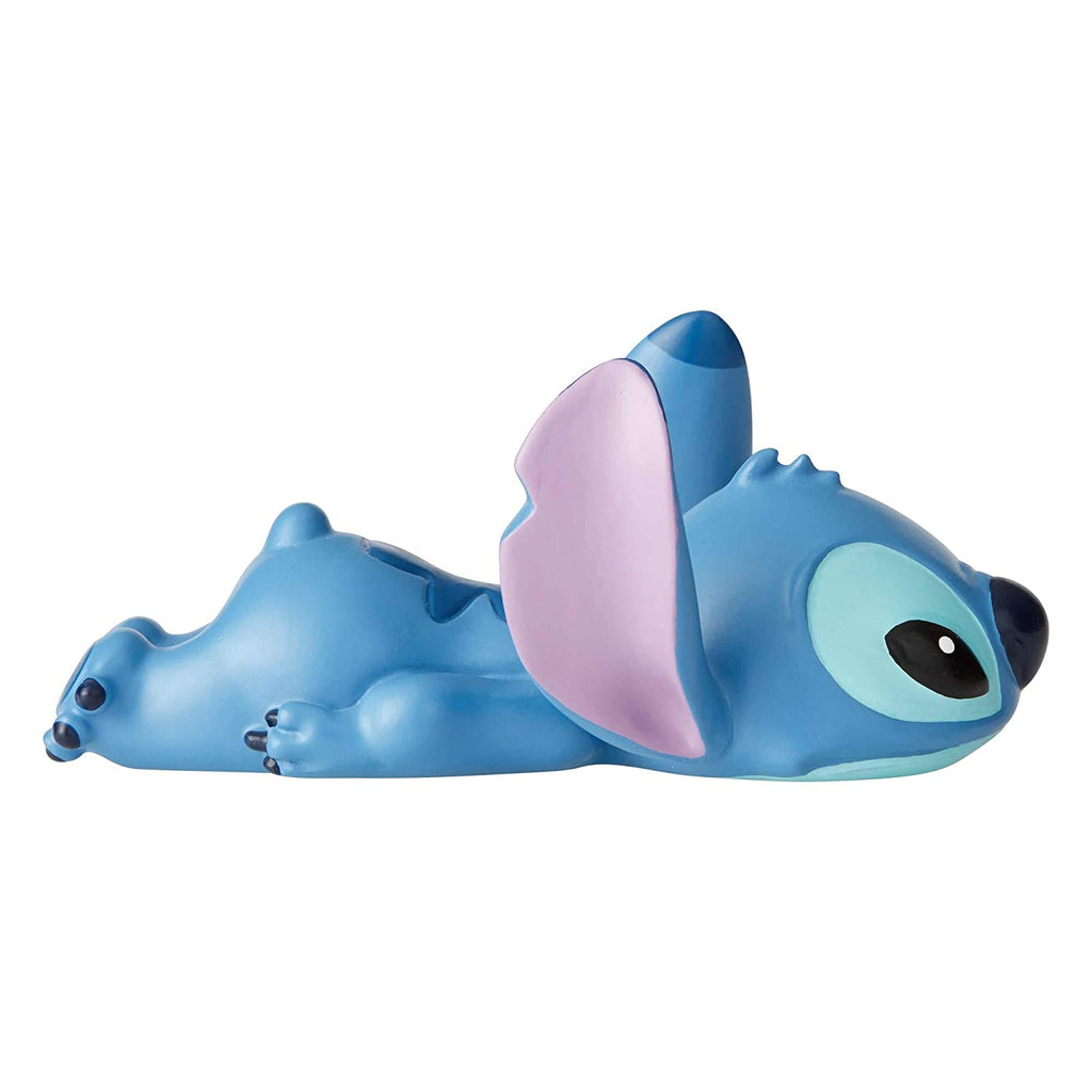 Enesco Disney Showcase Lilo and Stitch Laying Down Mini Figurine, 2.5 Inch
