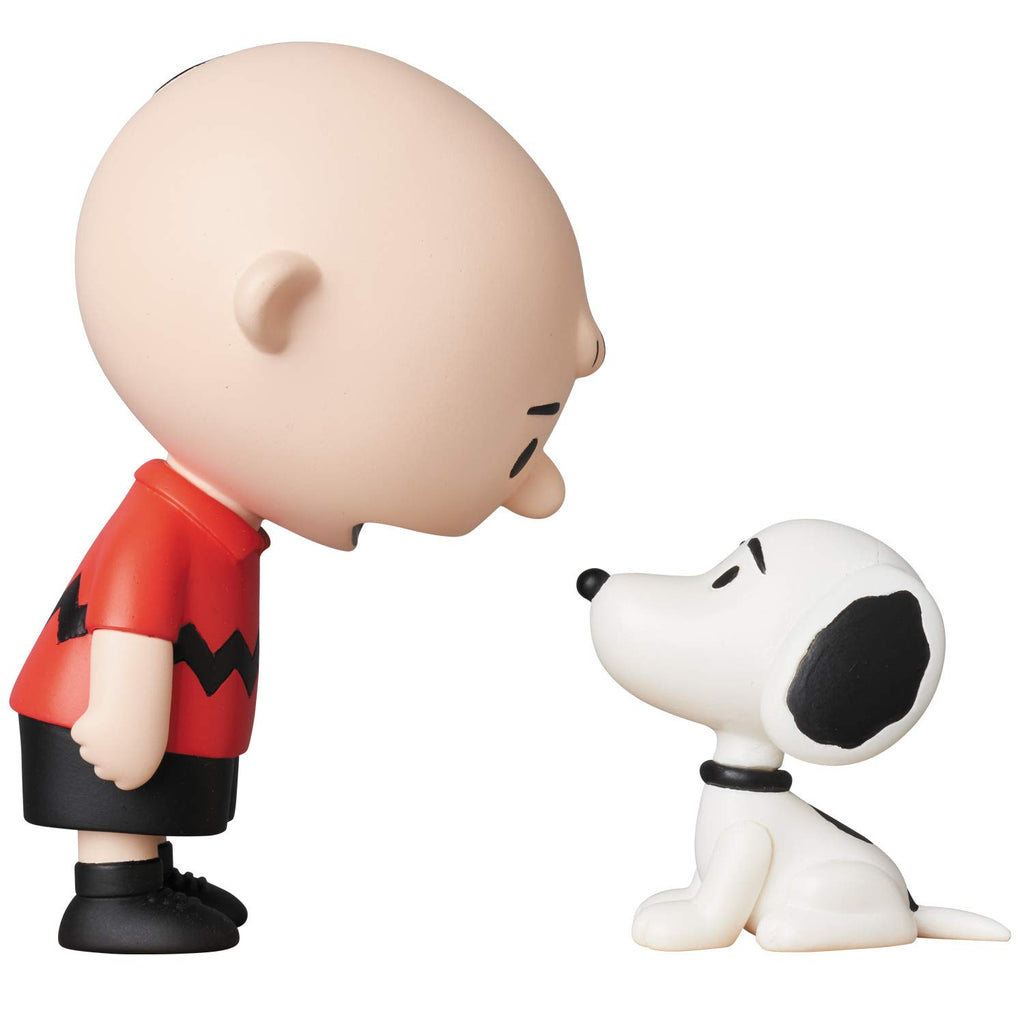 Medicom  Peanuts: Charlie Brown & Snoopy Ultra Detail Figure