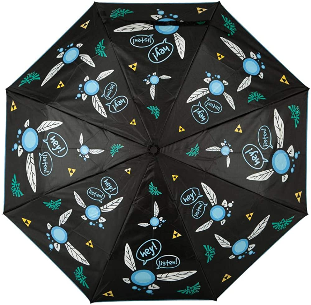 Legend of Zelda Umbrella Color Changing Umbrella Zelda Umbrella Zelda Gift