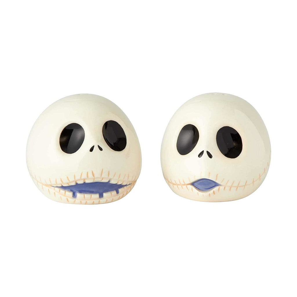 "Enesco Disney Nightmare Before Christmas"" Jack Ceramic Salt and Pepper Shakers, 2.5"""