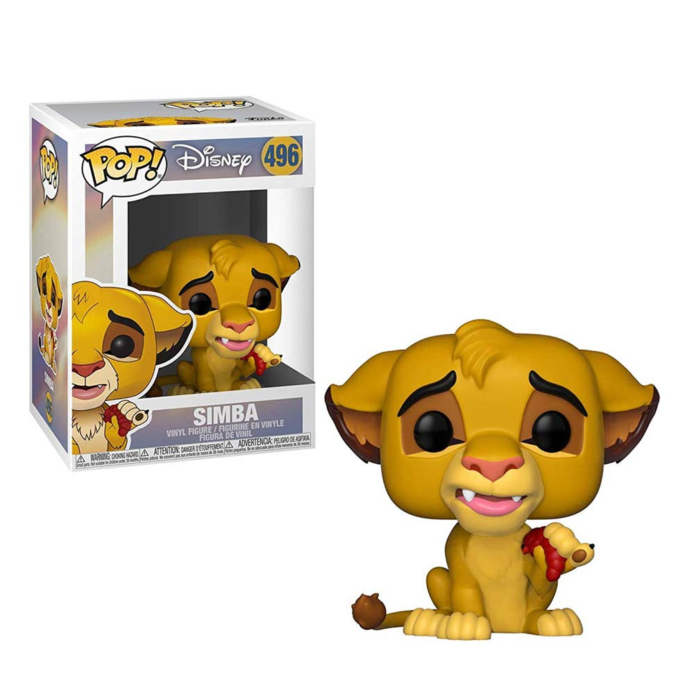 Funko Pop! Disney: Lion King - Simba Collectible Figure, Standard, Multicolor