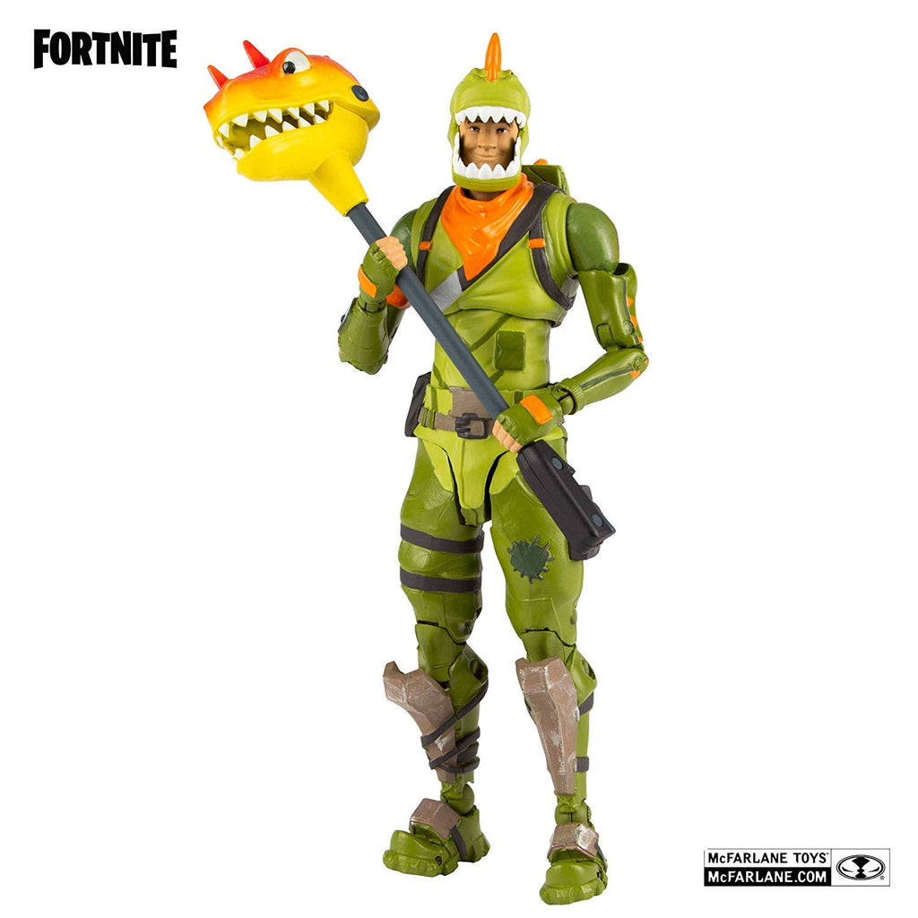McFarlane Toys Fortnite Rex Premium Action Figure, Multicolor