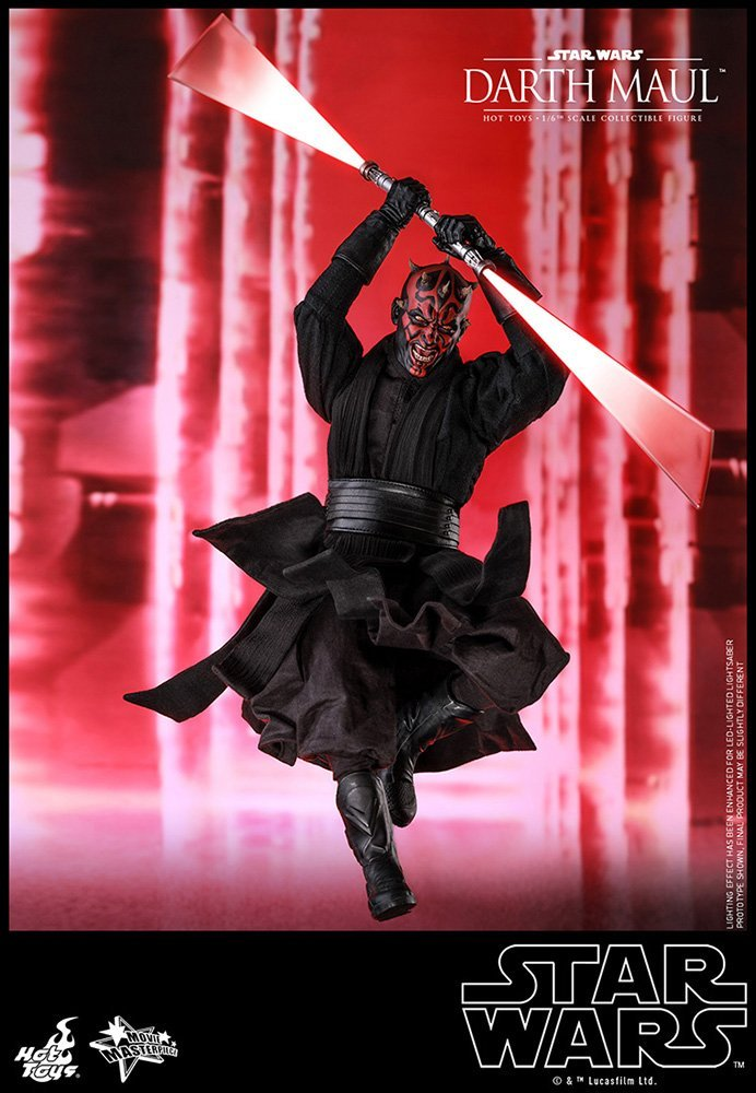Hot Toys Darth Maul Star Wars Phantom Menace 1/6 Scale Figure