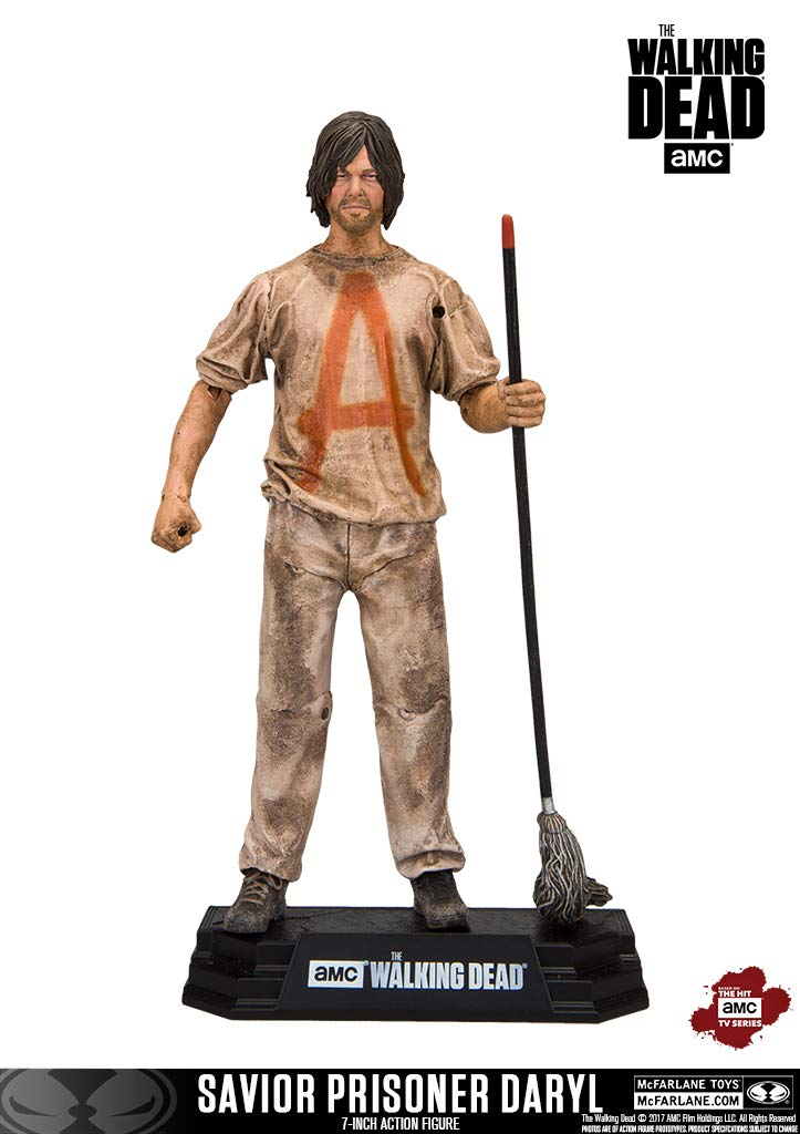 McFarlane Toys The Walking Dead TV Savior Prisoner Daryl Collectible Action Figure