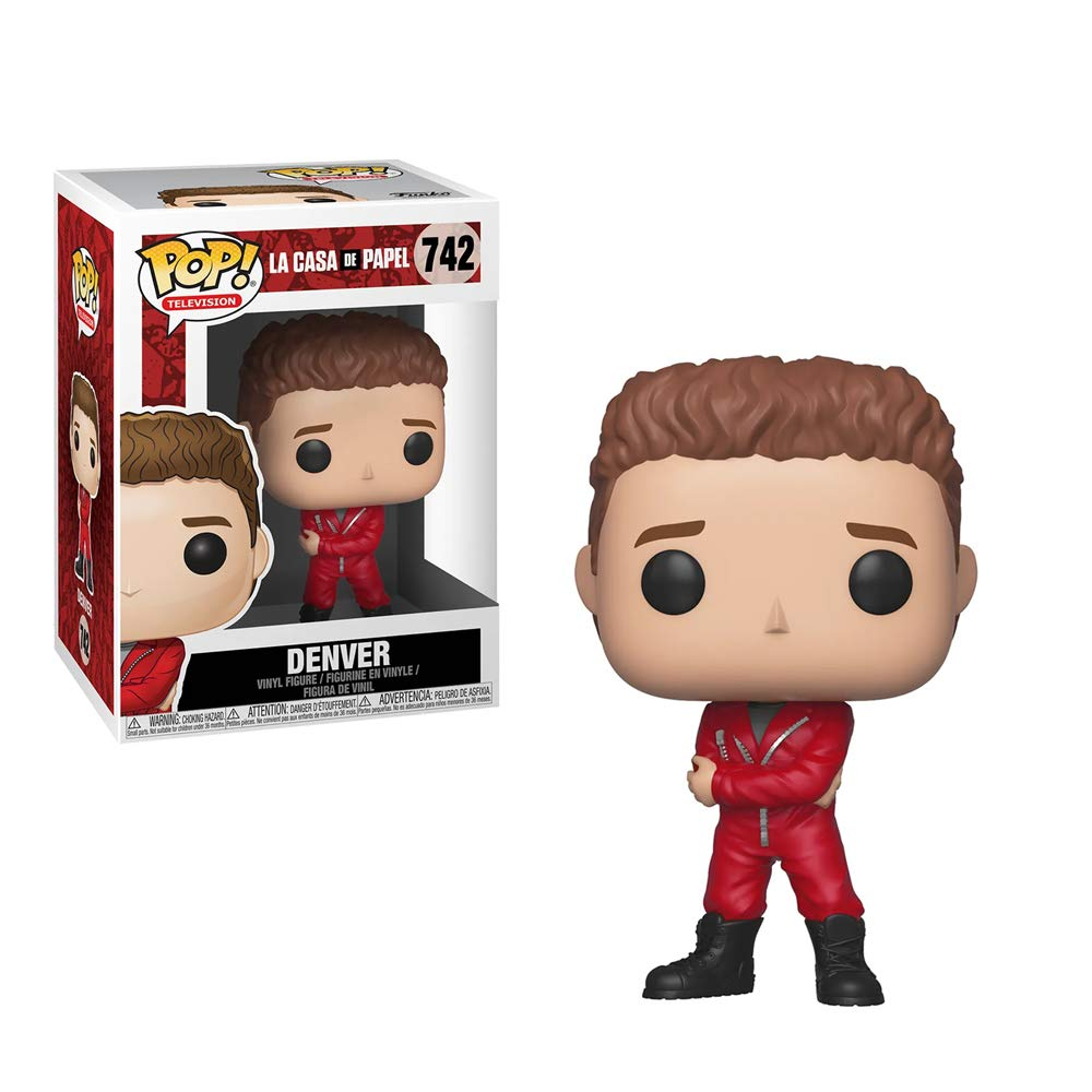 Funko Pop! Television: Money Heist: Denver, Multicolor Collectible Figure, Standard, Multicolor