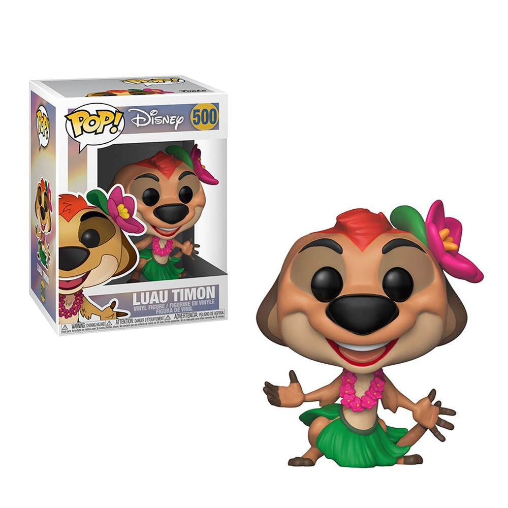 Funko Pop! Disney: Lion King - Luau Timon Collectible Figure, Standard, Multicolor