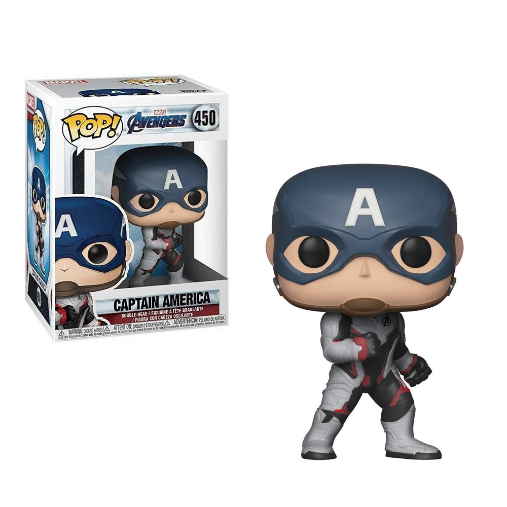 Funko Pop! Marvel: Avengers Endgame - Captain America