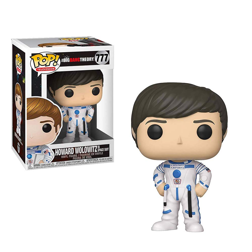Funko Pop! TV: Big Bang Theory - Howard Collectible Figure, Standard, Multicolor