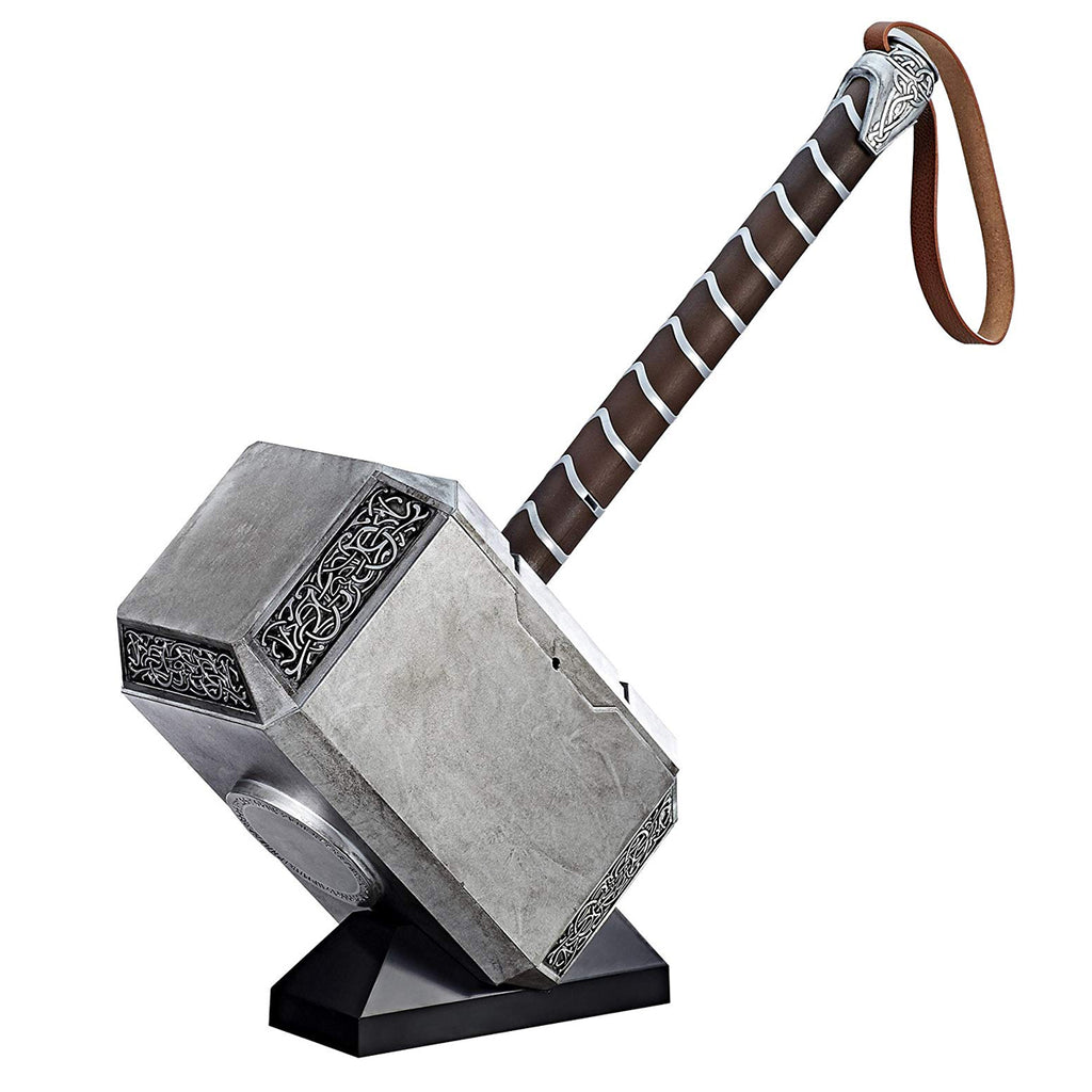 Hasbro Marvel Legends Thor Hammer Mjolnir Electronic Prop Replica