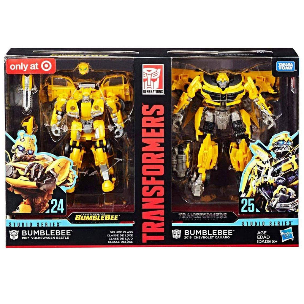 Transformers Studio Series 24 and 25 Deluxe Class Bumblebee 2-pack