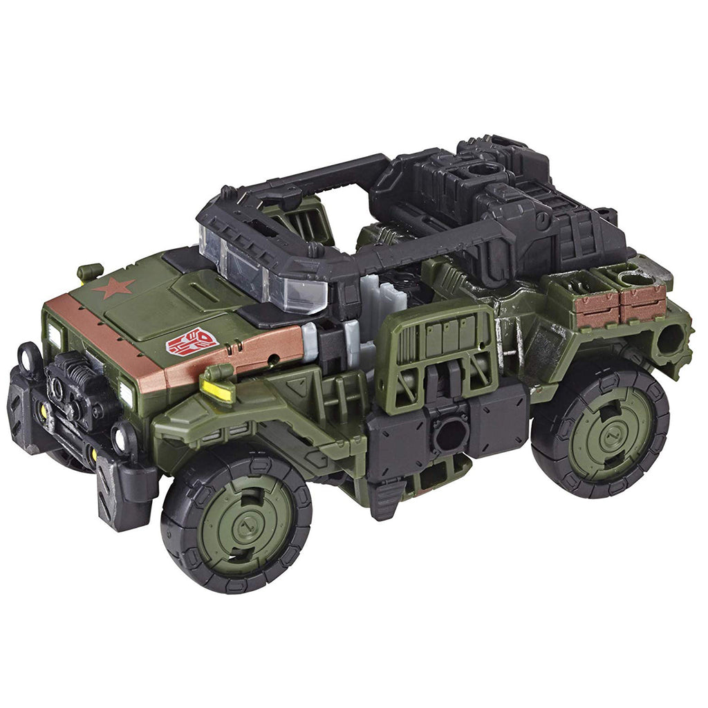 Transformers Generations War for Cybertron: Siege Deluxe Class WFC-S9 Autobot Hound Action Figure