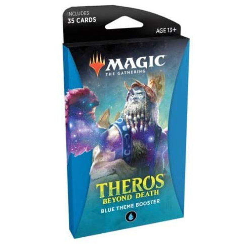 Magic The Gathering Theros Beyond Death Theme Booster (Blue Theme)