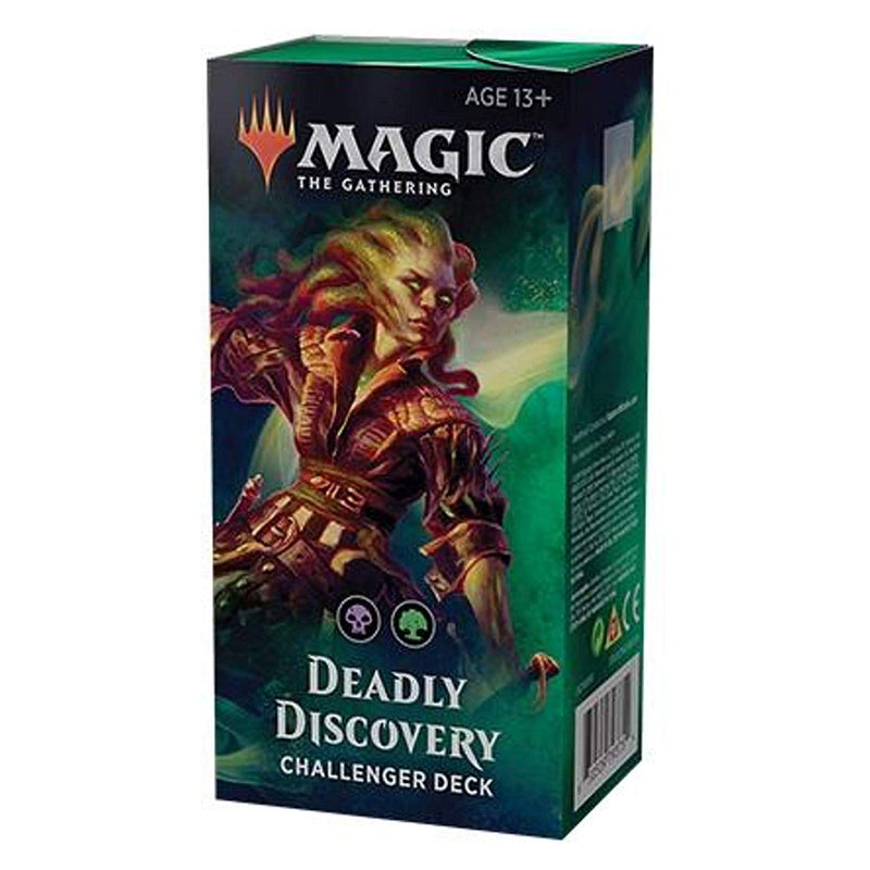 Magic The Gathering: 2019 Challenger Deck: Deadly Discovery - 75 Cards, Including Overgown Tomb