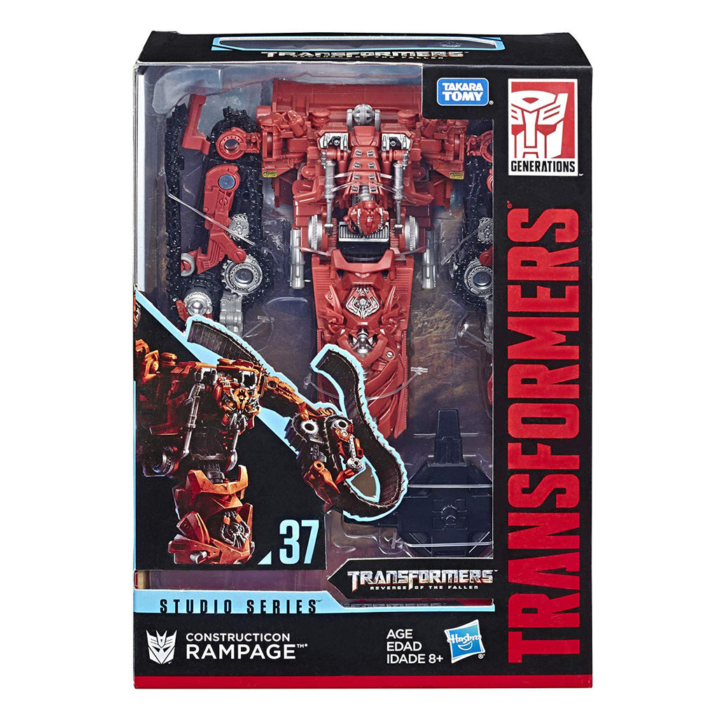 Transformers Studio Series Studio Series 37 Voyager Class Revenge of The Fallen Constructicon Rampage
