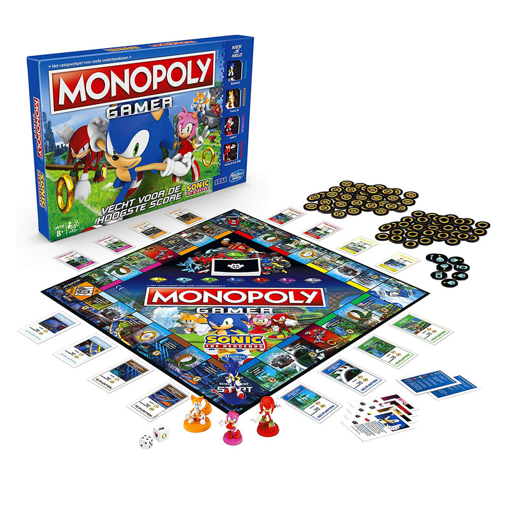 Hasbro Gaming Monopoly: Sonic The Hedgehog Edition Game
