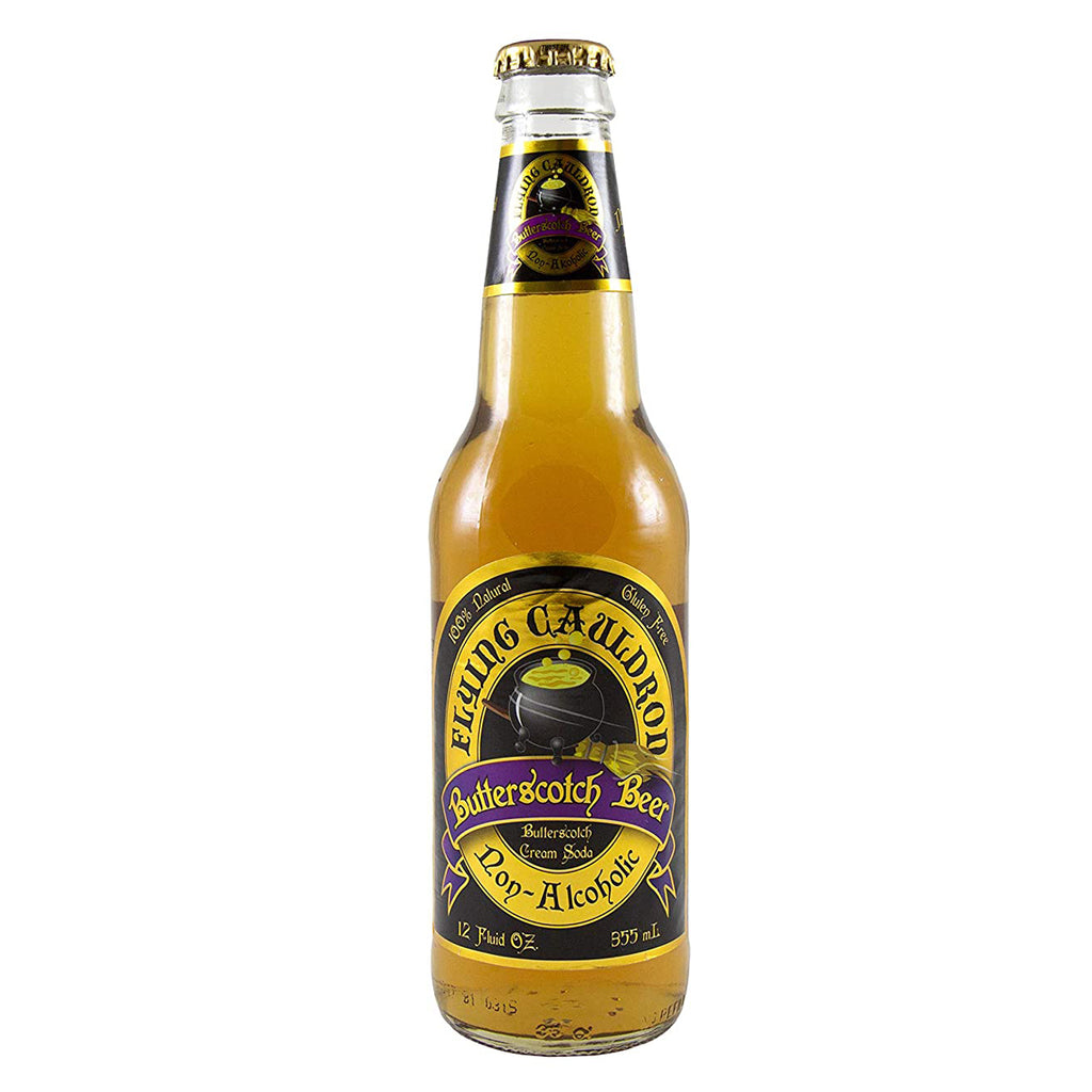 Harry Potter's Flying Cauldron Butterscotch Beer, 12 Ounce Bottle