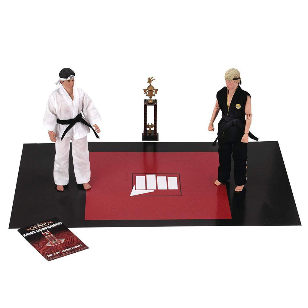 NECA The Karate Kid 1984: Clothed Action Figures Tournament 2 Pack