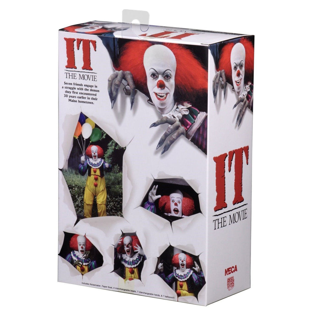 NECA - IT Action Figure - Ultimate Pennywise (1990)