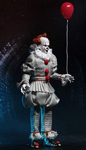 NECA 2017 IT: Pennywise 8 Inch Clothed Action Figure