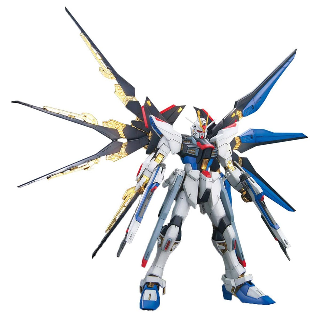Bandai Hobby 1/100 MG Strike Freedom Full Burst Mode Mobile Suit Gunudam Seed Destiny Model Kit