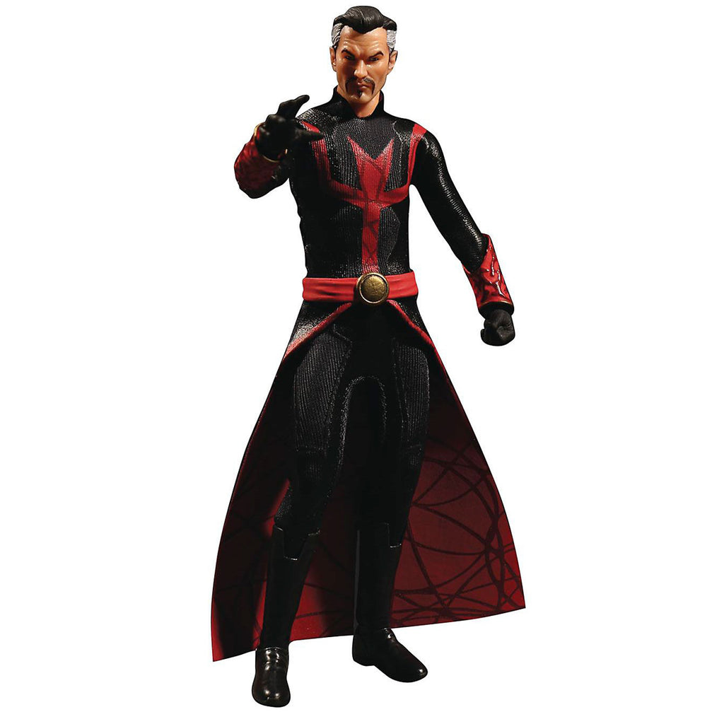 Figura de acción de Mezco Toys One: 12 Collective: Marvel Doctor Strange (Versión de los defensores)