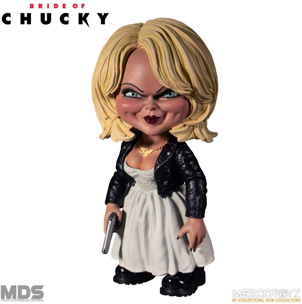 Mezco Designer Series Bride of Chucky Tiffany Figure Standard
