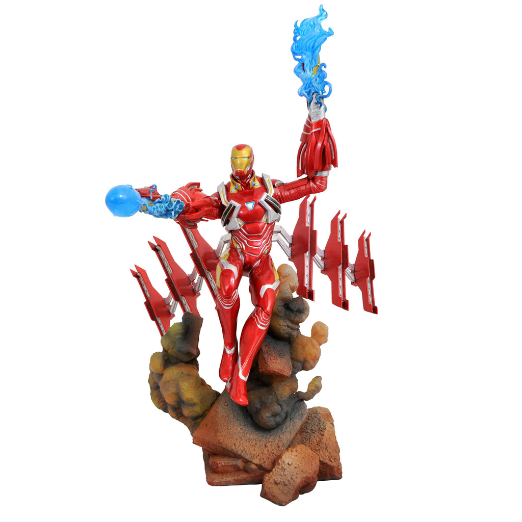DIAMOND SELECT TOYS Marvel Gallery: Avengers Infinity War: Iron Man Mk50 PVC Diorama Figure
