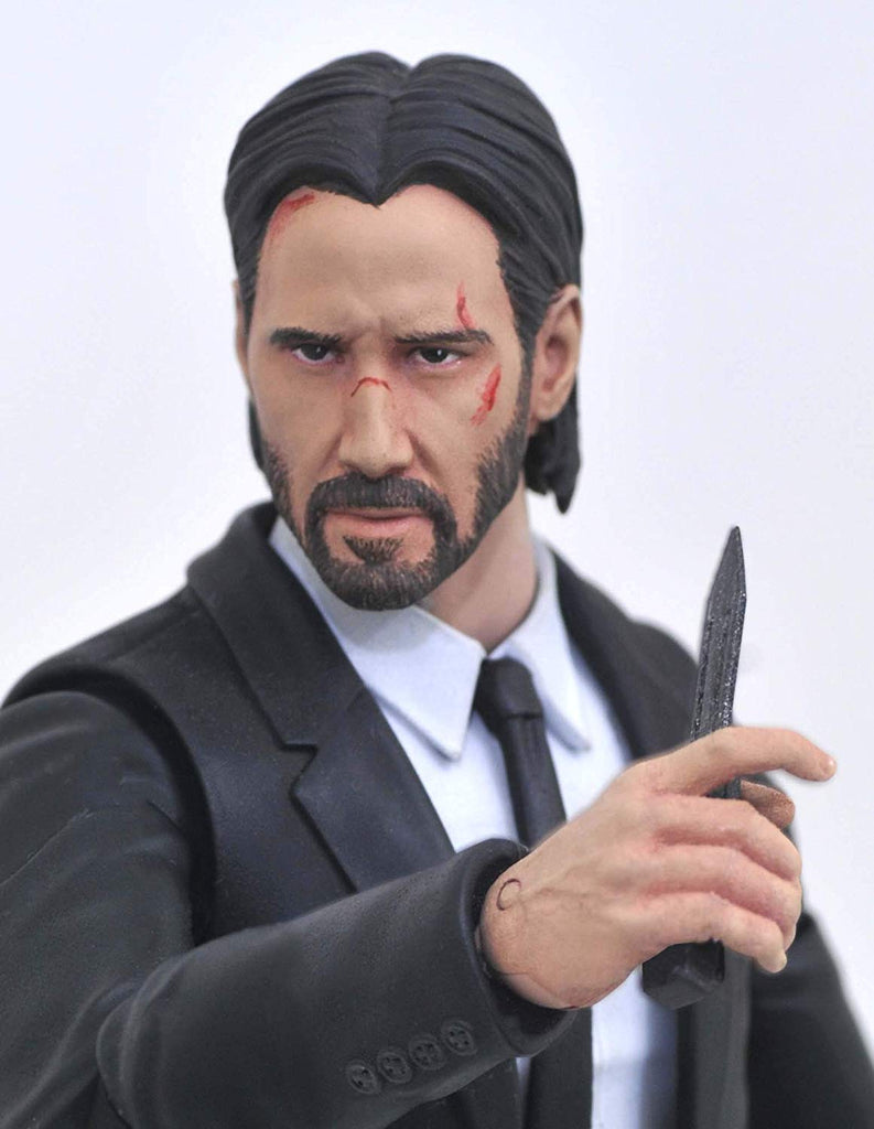 DIAMOND SELECT TOYS Select: John Wick Deluxe  Action Figure