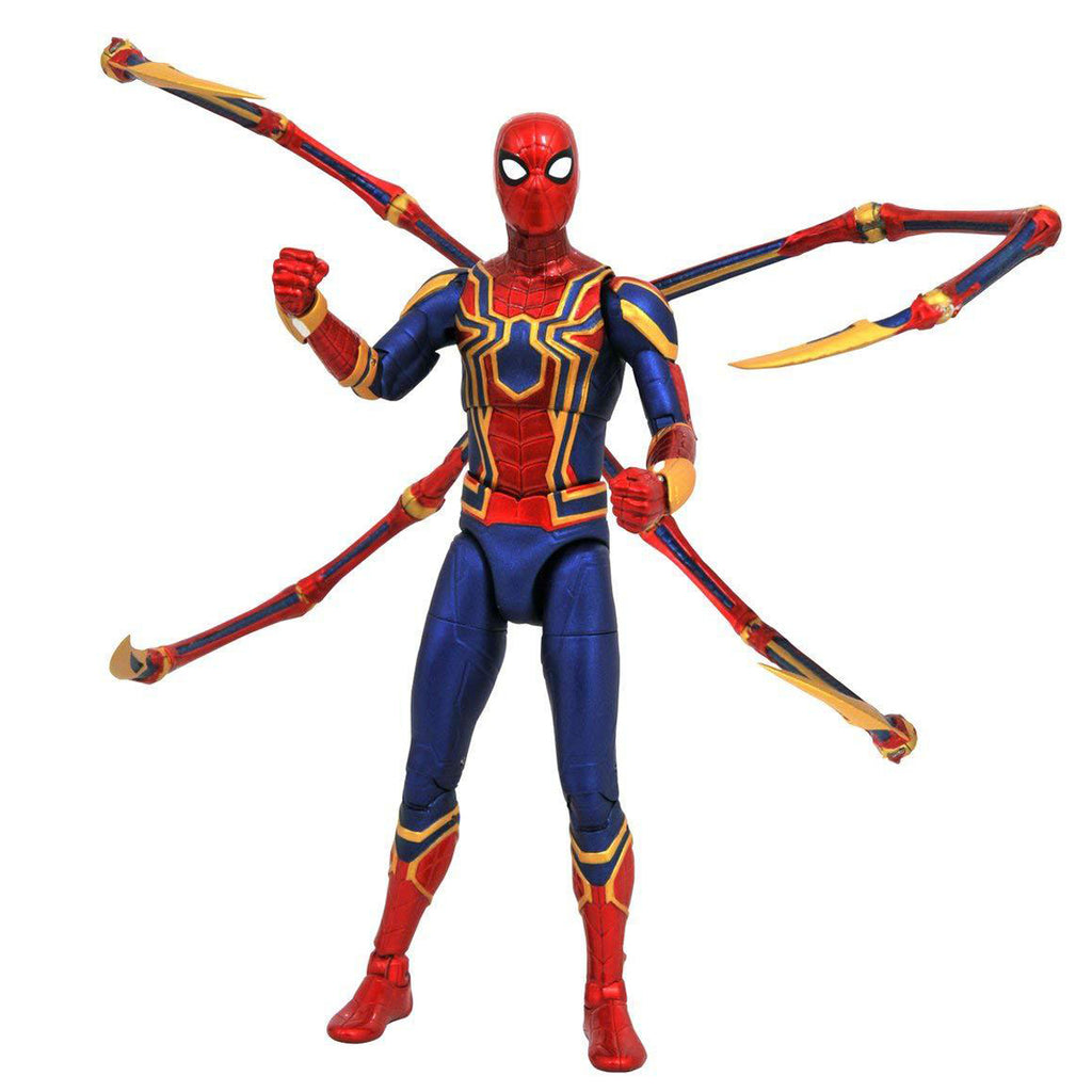 DIAMOND SELECT TOYS Marvel Select: Avengers Infinity War Spider-Man Action Figure