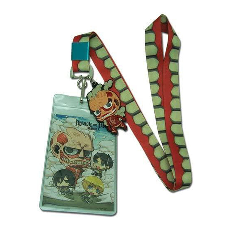 Great Eastern Entertainment Attack On Titan - Titan Lanyard