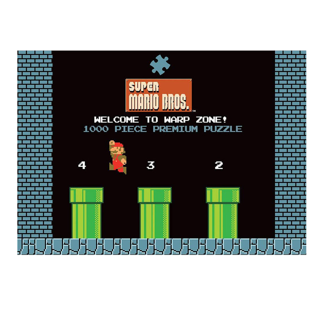 USAOPOLY Super Mario Bros. World 1-2 Welcome to Warp Zone! Puzzle