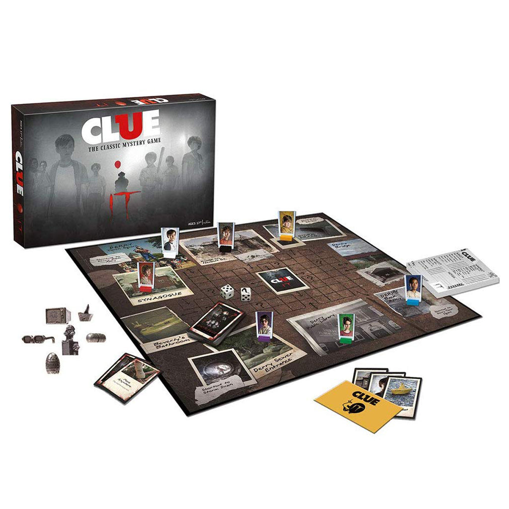 Clue, IT ,Board Game