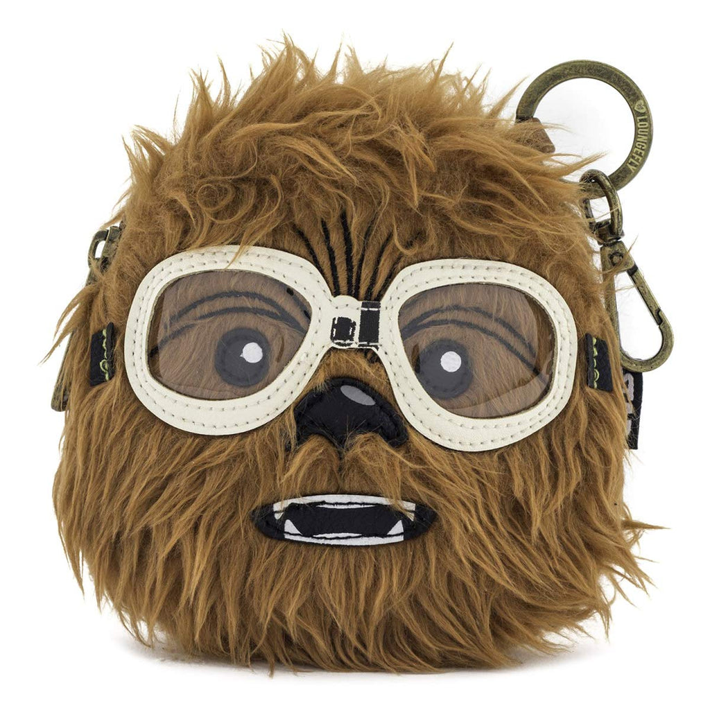 Loungefly x Star Wars Solo Movie Chewie Coin Bag (One Size, Brown)