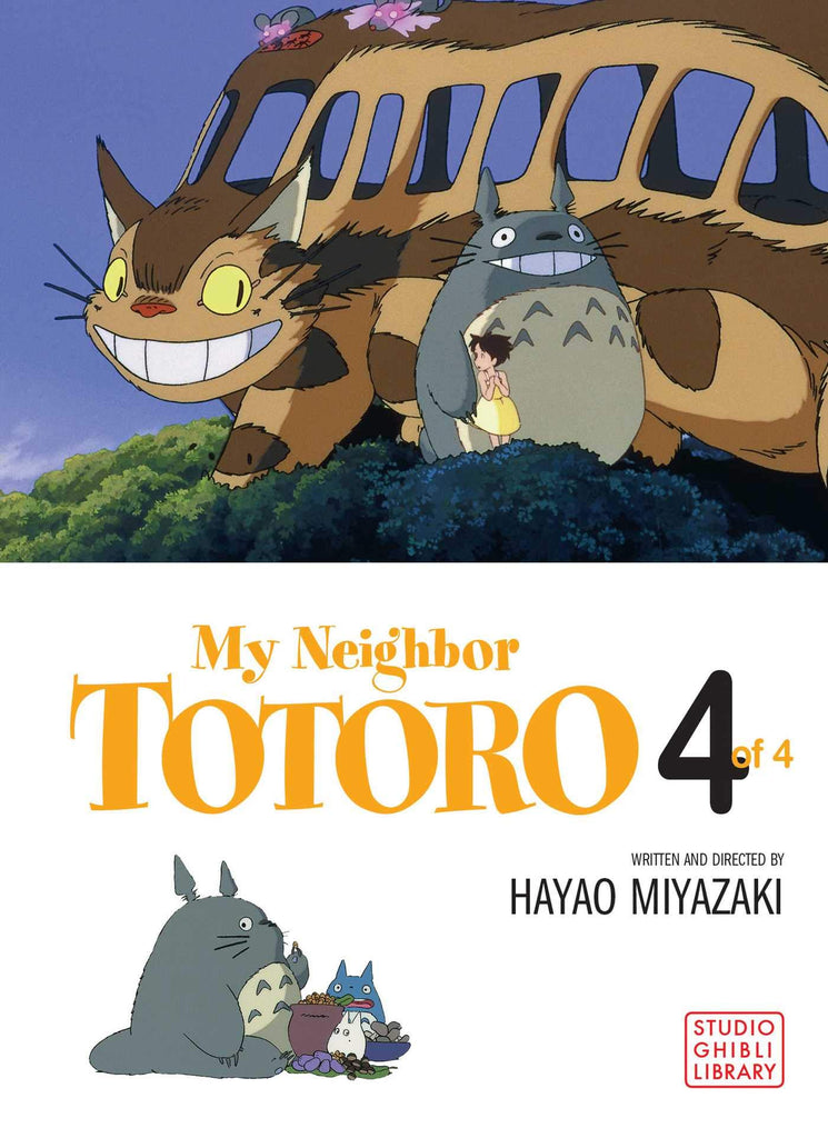 My Neighbor Totoro: Film Comic (My Neighbor Totoro, Book 4) (My Neighbor Totoro Film Comics) inglés/English