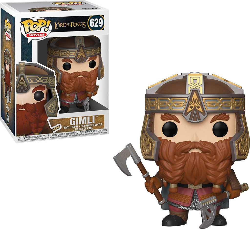 Funko Pop Movies: Lord of The Rings - Gimli  Collectible Figure, Standard, Multicolor