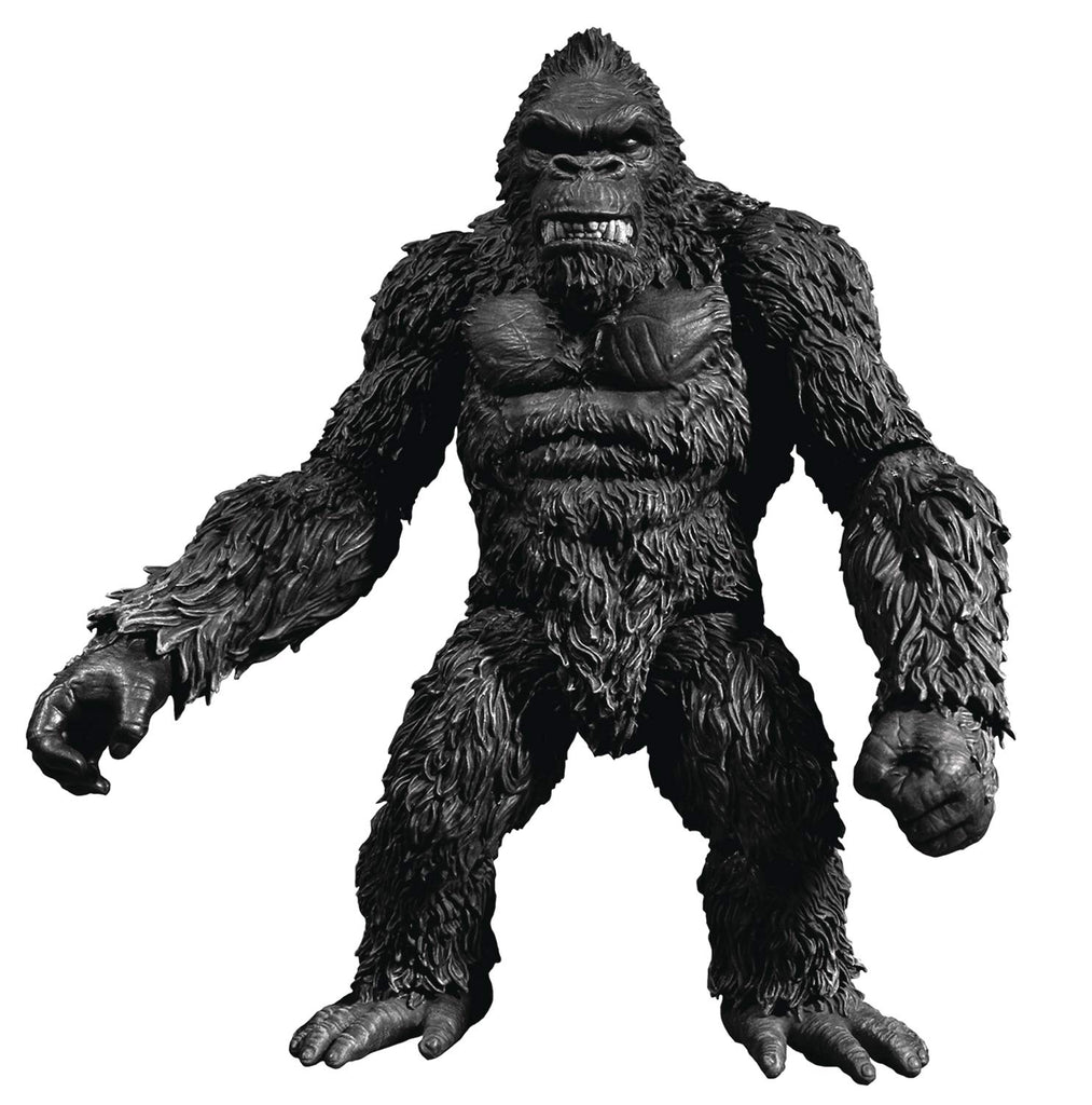 "Mezco Toys King Kong of Skull Island Black & White Version 7"" Action Figure"