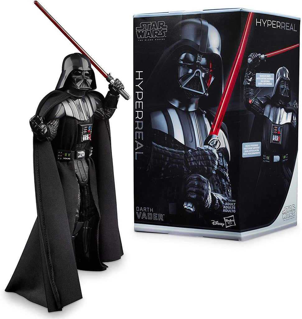 "Star Wars The Black Series Hyperreal Episodio V The Empire Strikes Back 8 ""-Scale Darth Vader Figura de acción - Coleccionable"