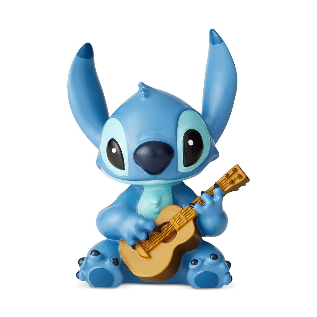 Enesco Disney Showcase Lilo and Stitch Guitar Mini Figurine, 2.5 Inch, Multicolor