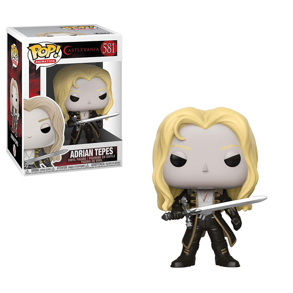 Funko Pop! Animation: Castlevania - Adrian Tepes Toy Collectible Figure, Standard, Multicolor