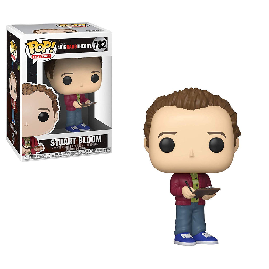 Funko Pop! TV: Big Bang Theory - Stuart Collectible Figure, Standard, Multicolor